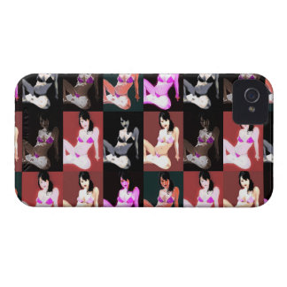 LivingDoll 7 Collage iPhone 4 Cover
