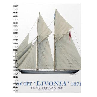 Livonia 1871 notizblock