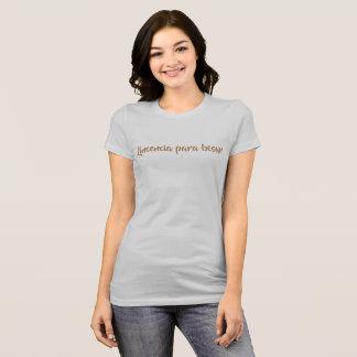 Lizenz küssen T-Shirt