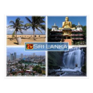 LK Sri Lanka - Postkarte