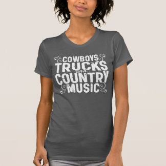 LKW-Cowboys und Countrymusik T-Shirt