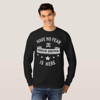 LKW-Fahrer-haben cooles Geburtstags-Geschenk keine T-Shirt