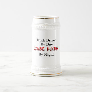 LKW-Fahrer/Zombie-Jäger Bierglas