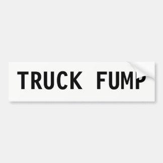 LKW FUMP Autoaufkleber