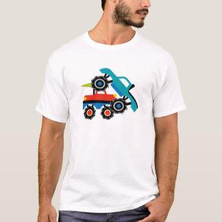 LKW-Kundgebungs-coole Monster-LKW-Shirts T-Shirt