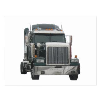 LKW-Traktor Postkarte