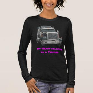 LKW-Traktort-shirt Langarm T-Shirt
