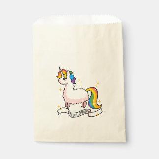 Llamacorn Verrücktheit Geschenktütchen