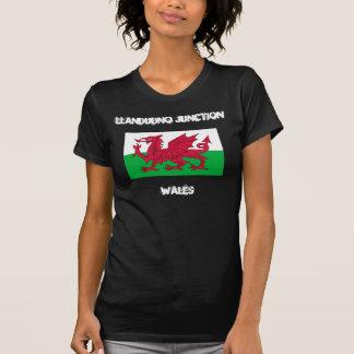 Llandudno Kreuzung, Wales mit Waliser-Flagge T-Shirt