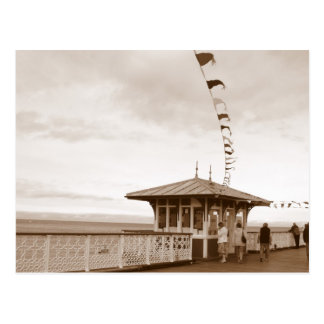 Llandudno Pier Nordwales Postkarte