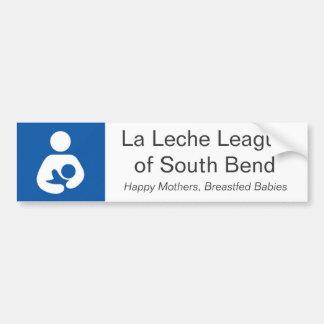 LLL von South- BendAutoaufkleber Autoaufkleber