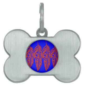LNeel-Vier-Feder-Rot-Blau Tiermarke