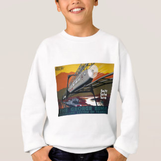 LNER Railplane Plakat Sweatshirt
