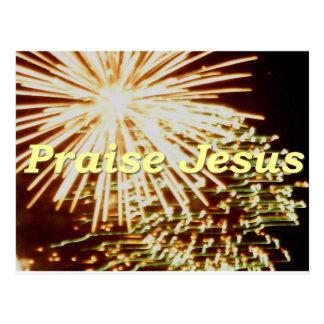 Lob Jesus 6 Postkarte