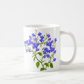 Lobelia-Garten-Blumen-Tasse