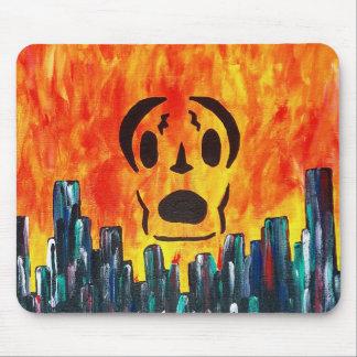 Localmusicplay.com-Feuer-Stadt Mousepad