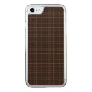 Loch Achaidh Na h-Inich kariert Carved iPhone 8/7 Hülle