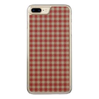 Loch Achall kariert Carved iPhone 8 Plus/7 Plus Hülle