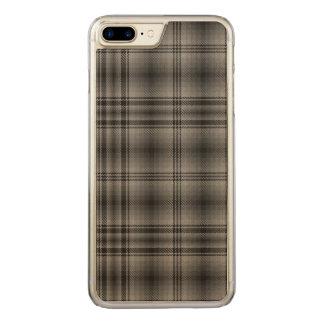 Loch Achilty kariert Carved iPhone 8 Plus/7 Plus Hülle