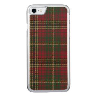 Loch Achnacloich kariert Carved iPhone 8/7 Hülle