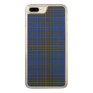 Loch Achonachie kariert Carved iPhone 8 Plus/7 Plus Hülle