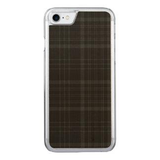 Loch Achray kariert Carved iPhone 8/7 Hülle