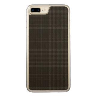 Loch Achray kariert Carved iPhone 8 Plus/7 Plus Hülle