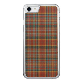 Loch Aisir Mór kariert Carved iPhone 8/7 Hülle