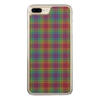 Loch Akran karierter Tartan Carved iPhone 8 Plus/7 Plus Hülle