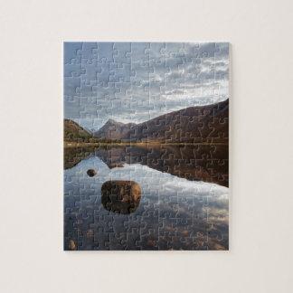 Loch Etive. Glencoe in den schottischen Puzzle