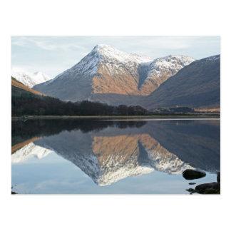 Loch Etive, Schottland Postkarte