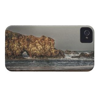 Loch im Wand-Galaxie-mutigen Kasten iPhone 4 Cover