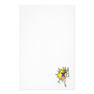 Loch in einem briefpapier