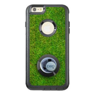 Loch in einem Golfball-Monogramm iPhone 6s Golf OtterBox iPhone 6/6s Plus Hülle