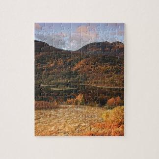 Loch Leven, Glencoe, Schottland Puzzle