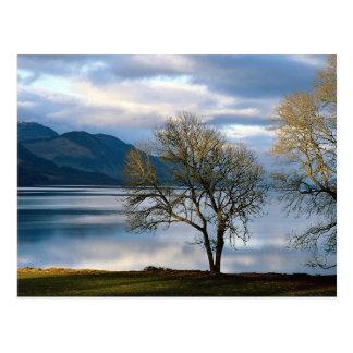 Loch Ness, Schottland Postkarte