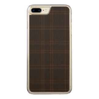 Loch von Aboyne kariert Carved iPhone 8 Plus/7 Plus Hülle