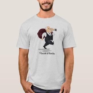 Lochen Sie ein Banker-Börse-T-Shirt T-Shirt
