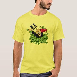Lochen Sie ein Banker-Farbbörse-Shirt T-Shirt