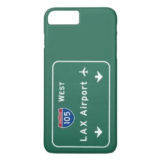 LOCKERER Flughafen I-105 W zwischenstaatlicher Ca iPhone 8 Plus/7 Plus Hülle