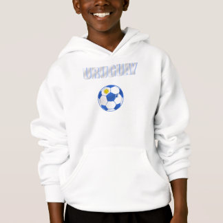 Lockert cooles Ball Uruguays futbol La Celeste Hoodie