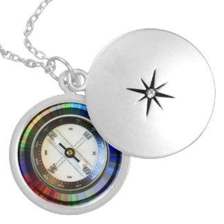 Locket-Imitat-Kompass Anhänger