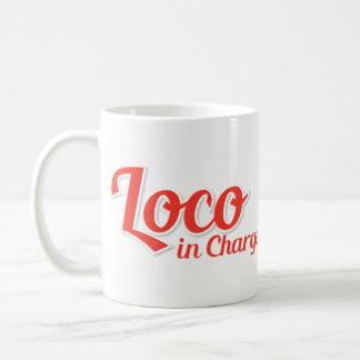 Loco in Chargo mutigem Rot Kaffeetasse
