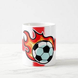 Lodernde Ball-St- Georgeflagge Kaffeetasse