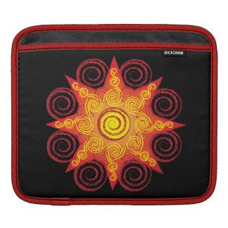 Lodernder Celtic Sun iPad Sleeve