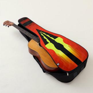 Lodernder Pfeil Gitarrentasche