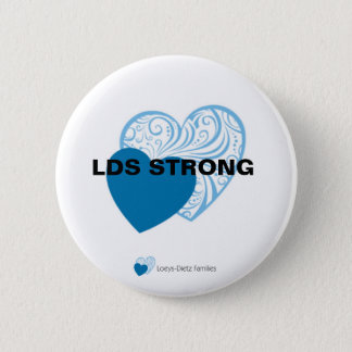 Loeys-Dietz nehmen Herz-Knopf Runder Button 5,1 Cm