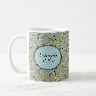 Löffel und Spachteln personalisiert Kaffeetasse
