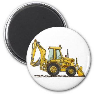 Löffelbagger-Baggerlader-Bau-Magneten Runder Magnet 5,1 Cm