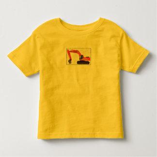 Löffelbagger durch Baby ruinierende Co. T Shirt